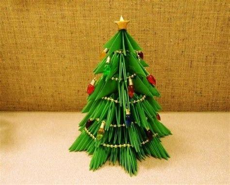 modular origami christmas trees natale christmas