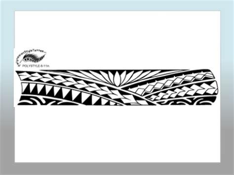 polynesian style tattoo designs