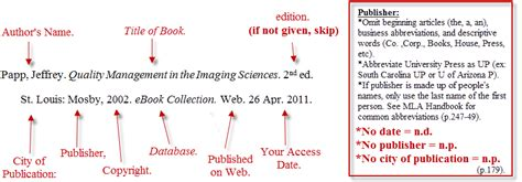 mla format of ebook scc library webpage
