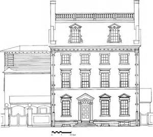 House Elevation Dimensions The President S House In Philadelphia Rediscovery Of A