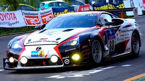 lexus racing car lexus lfa nur race car youtube