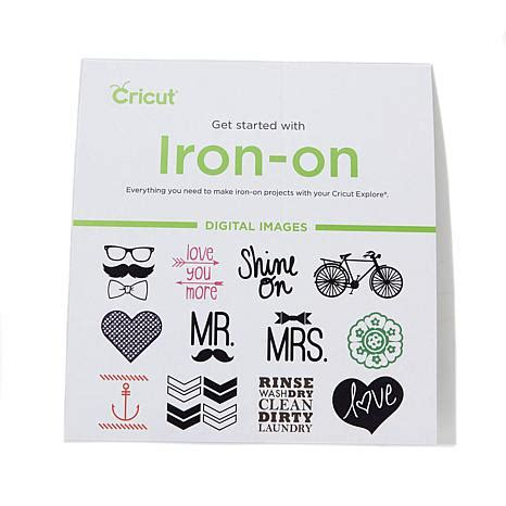 cricut printable iron on reviews cricut 174 iron on starter kit with digital images 8322714
