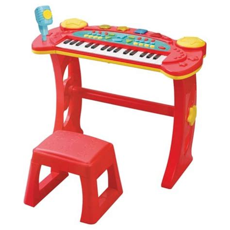 Keyboard And Stool by Buy Carousel Keyboard And Stool From Our Musical Toys
