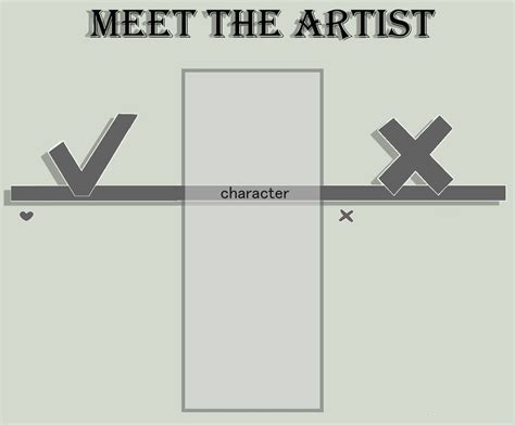 meet the template meet the artist template by nucicoms on deviantart