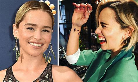 emilia clarke tattoo emilia clarke instagram of thrones shows