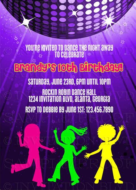 hip hop dance party playlist dance party invitation hip hop dance party by