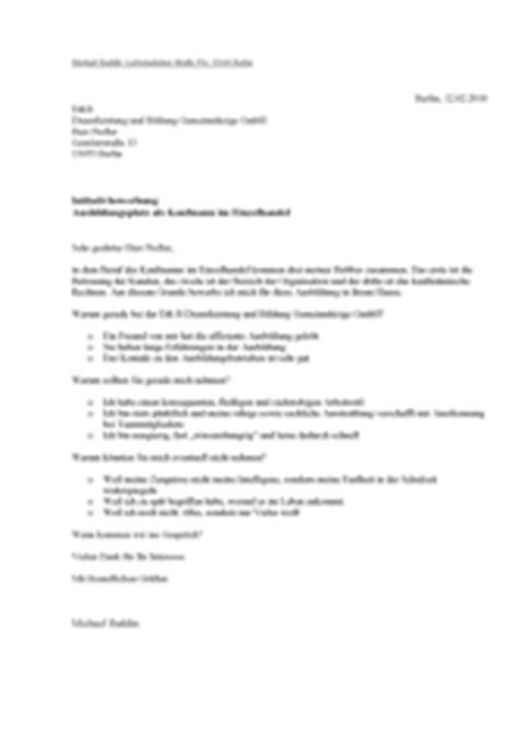 Bewerbungsschreiben Ausbildung Kaufmann Im Einzelhandel Bewerbungsunterlagen Mit Pfiff Aus Unserer Galerie Im Beratungs
