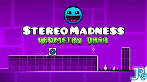 geometry dash full version stereo madness geometry dash stereo madness 100 3 coins youtube