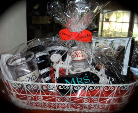 bearing gifts gift her hers gift baskets his her bridal shower gift basket by