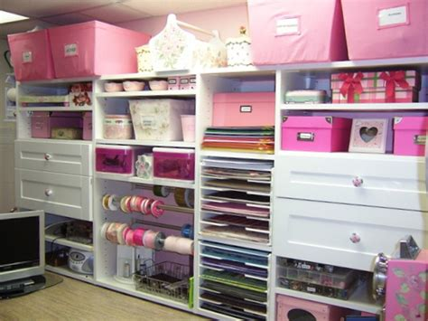 Craft Closet Organization Ideas by Craft Room