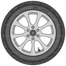 Truck Wheels Clipart Car Wheel Clip Clipartfest