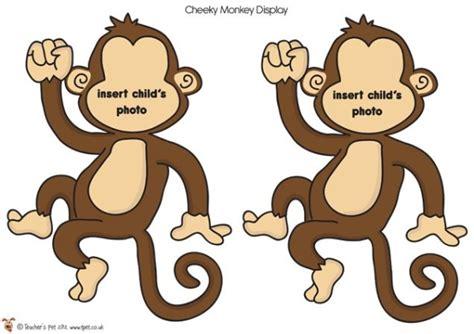 printable monkey art teacher s pet large printable photo monkeys free