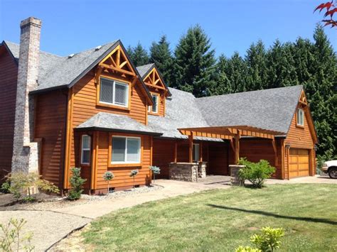 Timber Frame Garage With Living Quarters by This Custom Timber Framed Home Was Built In Boring Or By