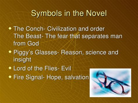 list of symbols in lord of the flies lotf ppt