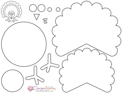 thanksgiving turkey crafts templates happy easter