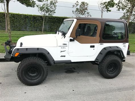 electronic toll collection 1999 jeep wrangler seat position control 1997 jeep wrangler tj sport model 4 0 engine 4x4 a t a c clean florida title for sale in