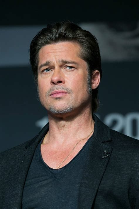 best brat brad pitt best hair moments popsugar