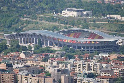 skopje jugoslawien philip ii arena