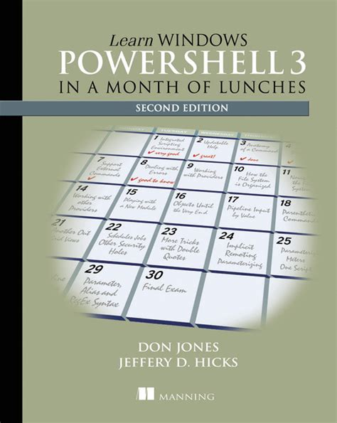 learn powershell scripting in a month of lunches books pearson education learn windows powershell 3 in a month