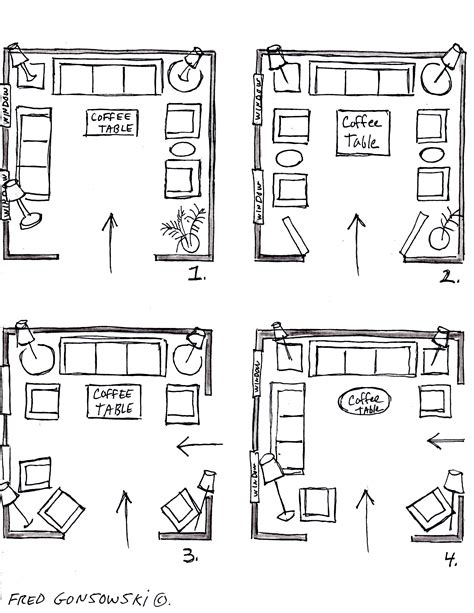 Square Living Room Layout | it s easy to arrange furniture in a square living room