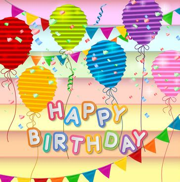 happy birthday card template free vector graphic free photos free icons free