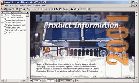 download car manuals pdf free 2001 hummer h1 free book repair manuals hummer h1 2001