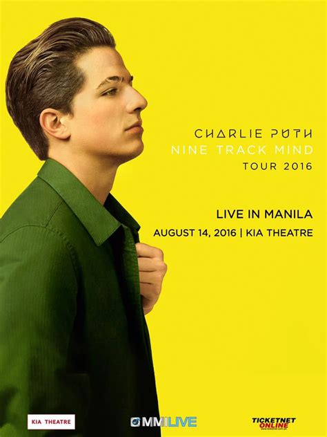 charlie puth first song charlie puth live in manila philippine primer