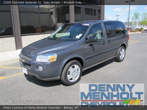 Slate Ls by Slate Metallic 2008 Chevrolet Uplander Ls Medium Gray