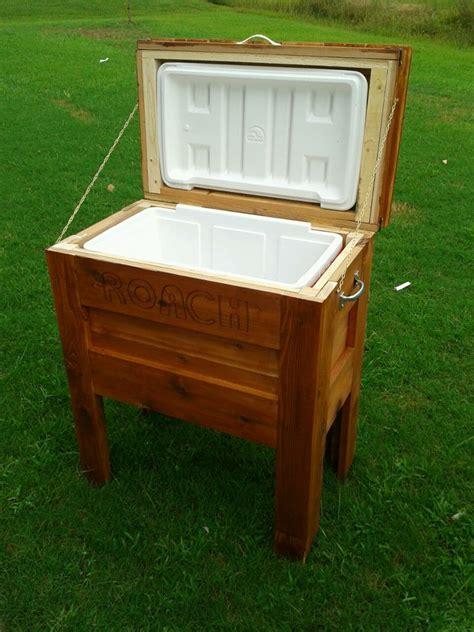 diy outdoor projects outdoor wooden cooler do it