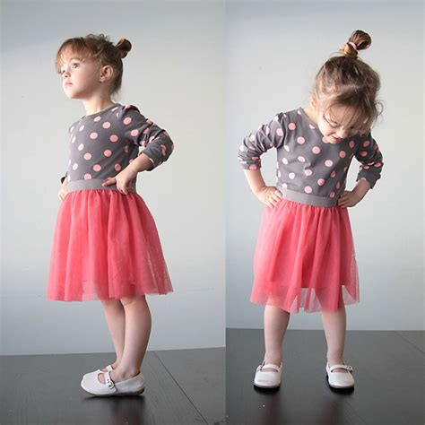 Bc408 Semi Knit Shirt With Tutu Skirt free dress patterns for the cottage
