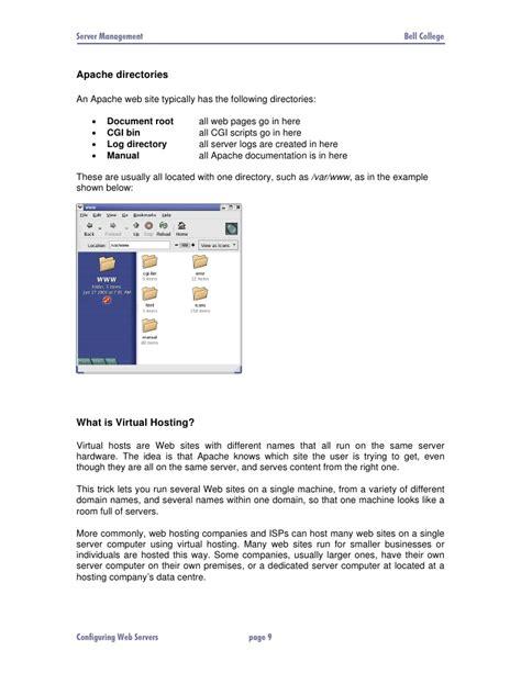 configure xp apache port configuring the apache web server