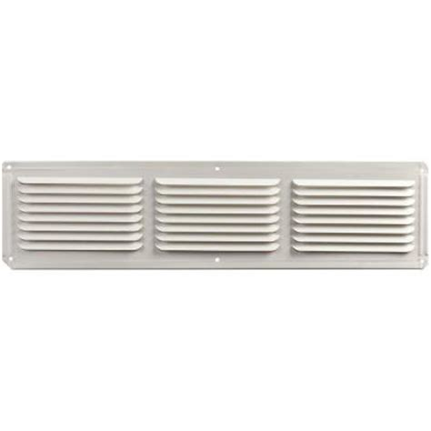 master flow 16 in x 4 in aluminum eave soffit vent