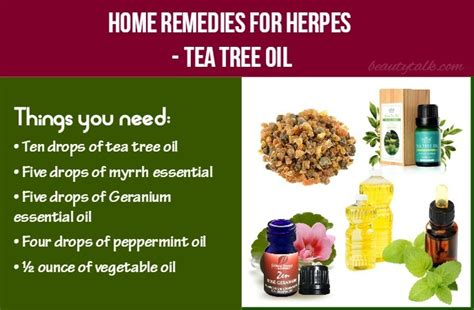top 20 home remedies for herpes on