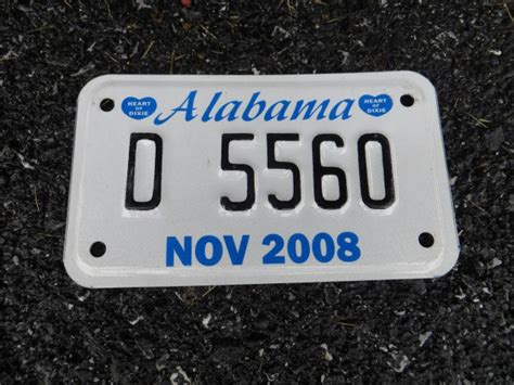 Motorcycle Dealers Alabama by Alabama Motorcycle Dealer License Plate 2008 Alabama