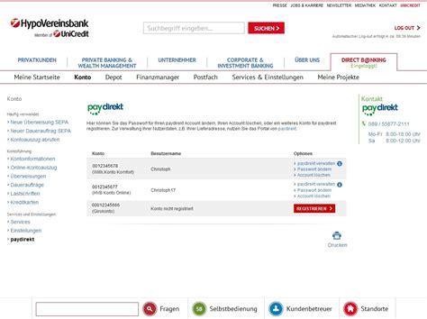 hvb bank hypovereinsbank hvb press lounge presseinformationen
