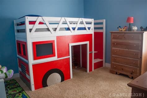 fire truck loft bed playhouse loft bed with stairs brilliant ana white storage stairs for the playhouse