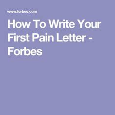 Instead of a Cover Letter Try a Pain Letter   Pain d
