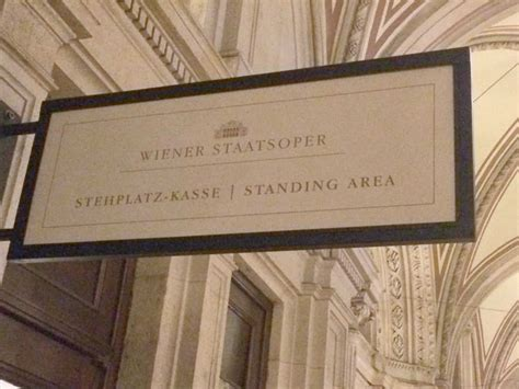 standing room how to get vienna opera standing room tickets