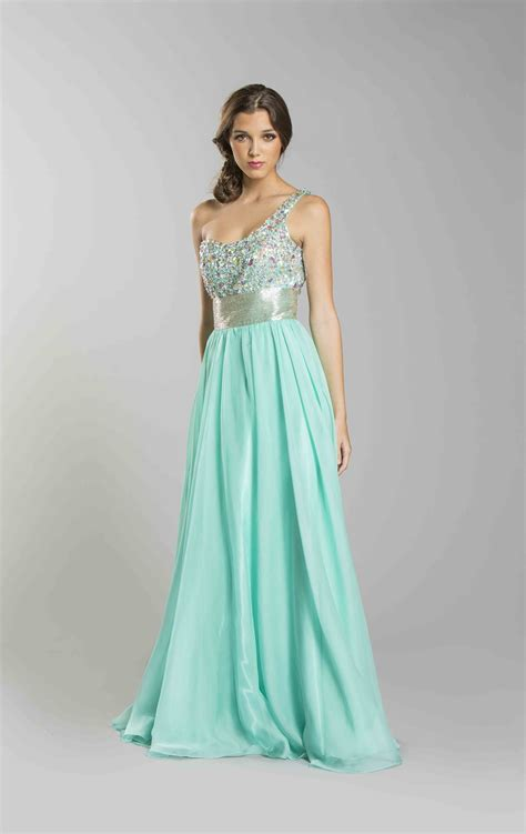 One shoulder long prom dresses designs ideas for stylish ladies 19