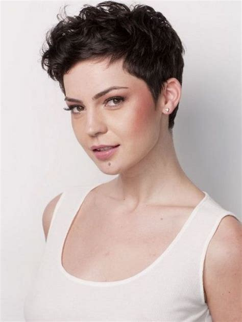 pixie cut for wavy thick hair short hairstyles for thick wavy hair pictures beauty