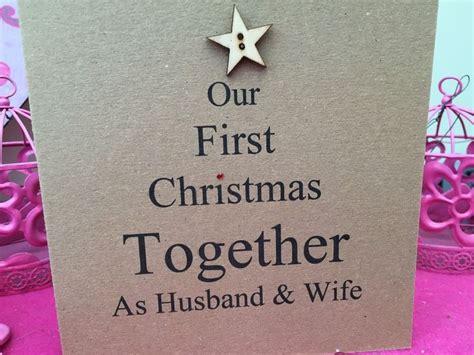 personalised handmade christmas card husband boyfriend