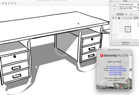 sketchup layout styles download styles missing in my 2016 version of pro sketchup