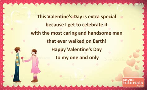 s day extras special messages for him