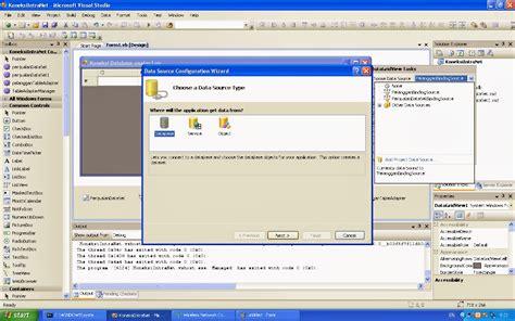 tutorial membuat web service dengan vb net tutorial membuat program berbasis client server dengan vb