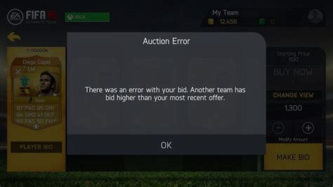 ebay listing error null fifa 15 ultimate team for windows 8 10 review