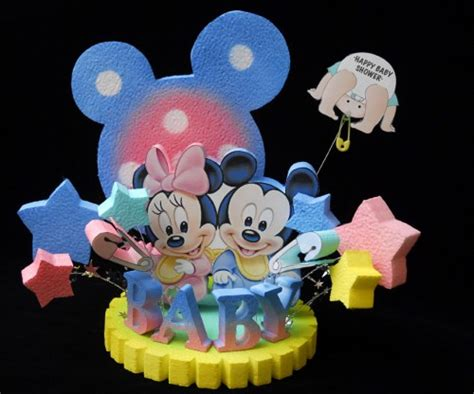 Minnie And Mickey Mouse Baby Shower by Baby Shower Mickey And Minnie Mouse Cake Topper