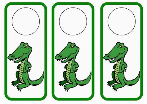 printable animal door hangers dinosaur door hangers birthday printable