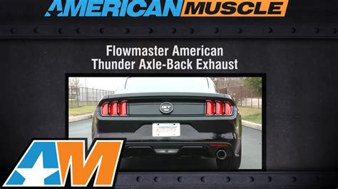 2016 mustang gt exhaust sound 2015 2016 mustang gt flowmaster exhaust sound clip