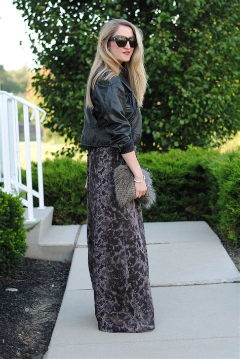 how to wear maxi skirts and dresses in winter aelida