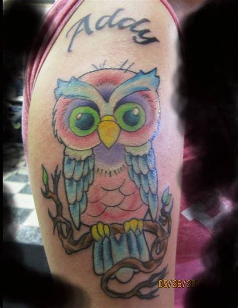 traditional owl tattoo gallery for gt traditional owl
